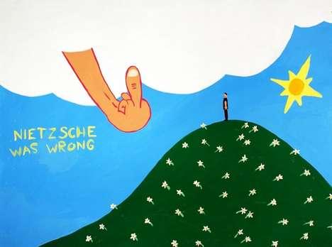 Perverse Philosophical Paintings