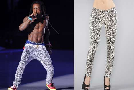 The Lil Wayne Leopard Jeggings Stole the Spotlight at the VMAs