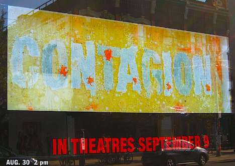 Bacterial Blockbuster Billboards