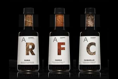 Earthy Bottle Branding