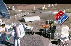 Extraterrestrial Take-Out - The Domino's Moon Base Will Serve Astronauts and Cosmic Explorers Alike