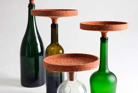 Quirky Corked Platters