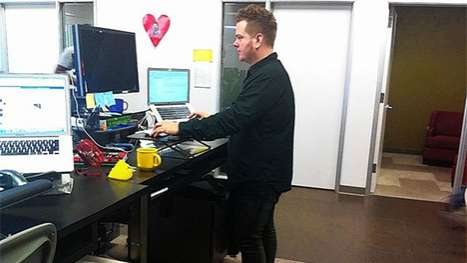 Upright Workstations - Standing Desks Have Become the Newest, Healthiest Office Alternative