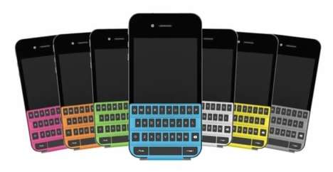 Malleable Mobile Keypads