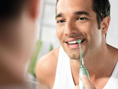 Bristle-Free Toothbrushes
