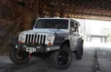 Video Game Off-Roaders - The Modern Warfare 3 Jeep Celebrates the Latest Call of Duty Release