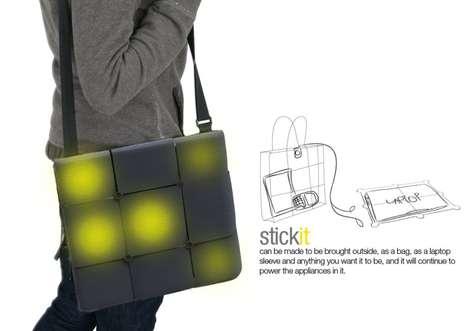 Adhesive Solar Tile Sacks