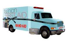 Fashion First Aid - The Glambulance Will Scour the City for Subjects with Sickly Style Sense