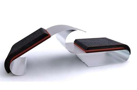 Disassembling Steel Seating