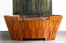 Luxurious Lumber Tubs