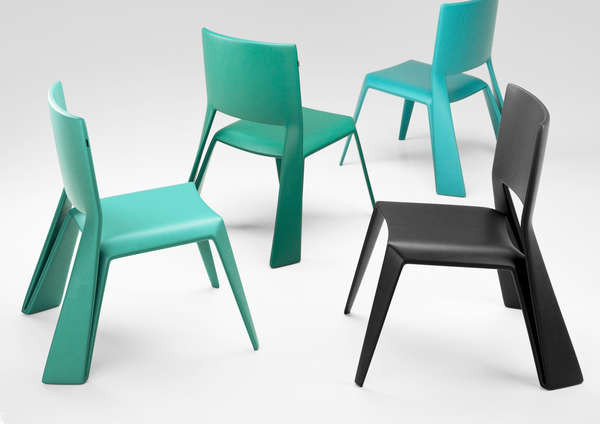 Folded Frame Seating