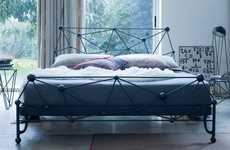 Orbital Wrought Iron Beds - The Astro Bed by Ciacci Embodies an Out-of-this-World Form