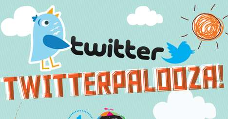 Social Media Success Charts - This 'Twitterpalooza' Infographic Celebrates Terrific Tweets