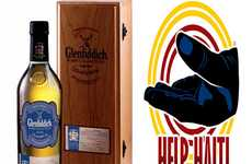 Earthquake Relief Alcohol - Glenfiddich 'Hand in Hand for Haiti' Bottle Donates to those in Need