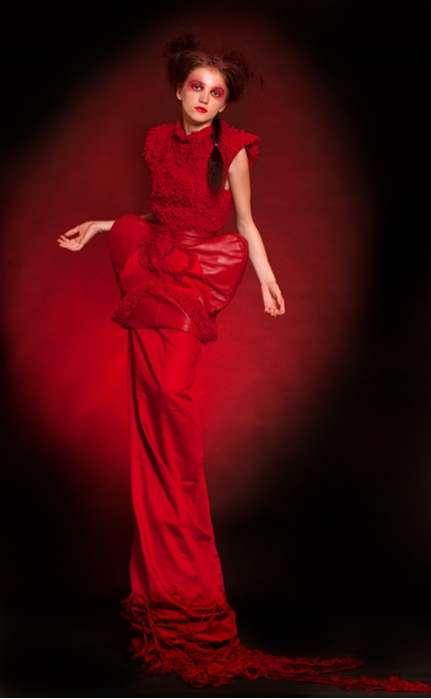 Bloody Conceptual Fashion