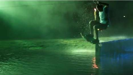 Midnight Wakeboard Sessions
