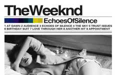 Faux Mixtape Albums - Echoes of Silence Cover Shows Anticipation for 'The Weeknd' Release