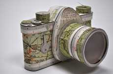 Paper Cameras - The Jennifer Collier Paper Art Series is Unbelievable