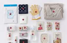 Innovative S.O.S Kits - The MUJI Itsumo, Moshimo Campaign Saves Lives With Style