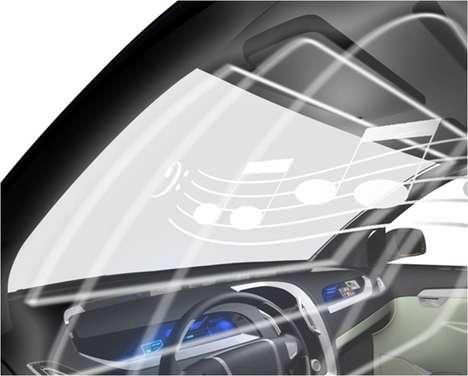 Glass Auto Stereos