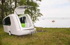 Amphibious Mobile Homes - Take an Outdoor Vacation on Land or Water with the Sealander Caravan