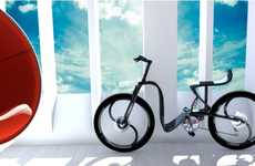 Harmonious Bicycle Designs - Pedro Macahdo's Lisboa Bike Harnesses the Power of Yin and Yang