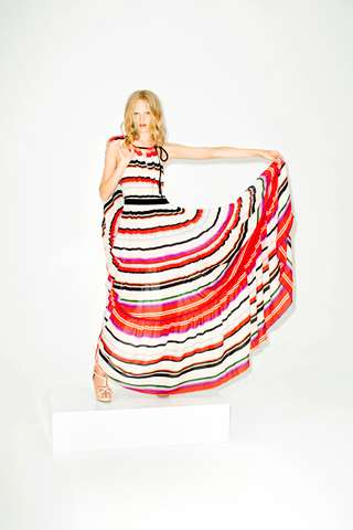 Sweet Striped Ensembles - Earn Your Stripes with the 10 Crosby Derek Lam Spring Collection
