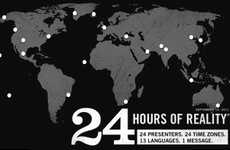 Endurance Eco Initiatives - Al Gore Teams Up With 23 Activists for 24 Hours of Reality