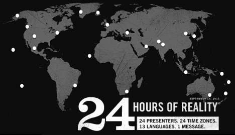 Al Gore Teams Up With 23 Activists for 24 Hours of Reality