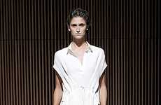 White-Hot Womenswear - Drape Yourself in Ethereal Luxury with The Row Spring Collection