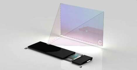 Projected Touch-Screen Computers - Augmented Interface Turns Any Surface Into a Touchable Display