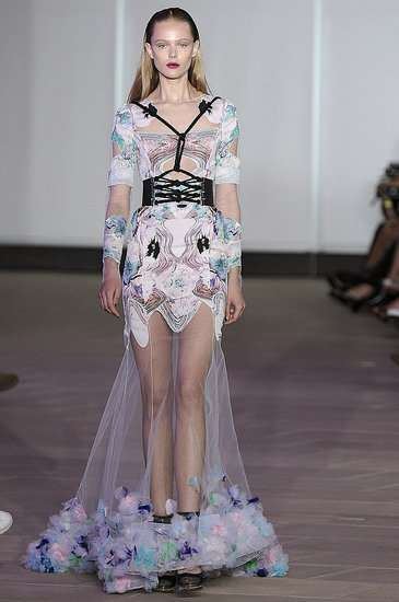 Floral-Infused Corsets