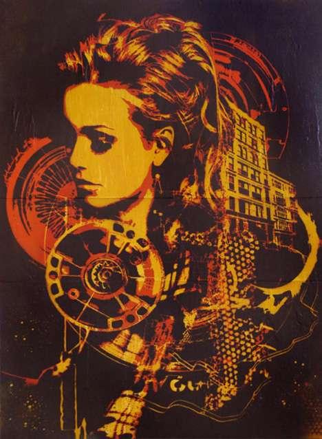 Stylized Stencil Art