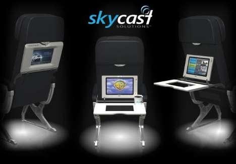 In-Flight Multimedia Trays