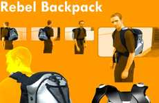 Weight-Watching Book Bags - The Rebel Backpack Ensures Users Don't Overload