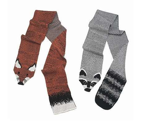 Sustainable Cuddly Critter Scarves