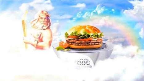 Mythical Fast Food Burgers