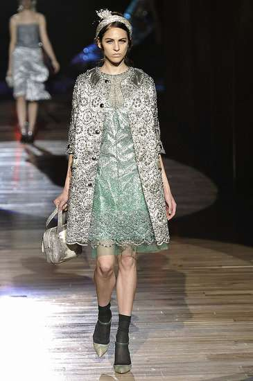 The Marc Jacobs Spring 2012 Collection was Part Grunge and Part Glamor