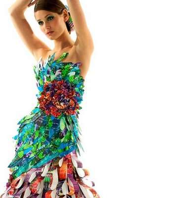 Glamorous Upcycled Gowns