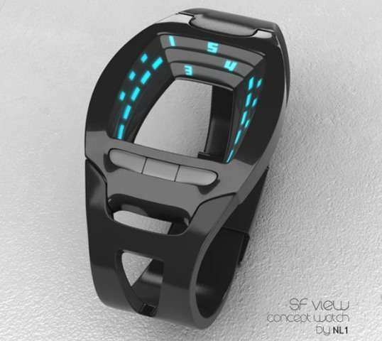 Black Hole Wristwatches