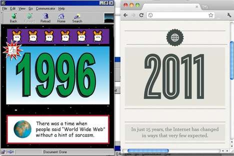'The Internet of Yesterday and Today' Travels from 1996 to 2011