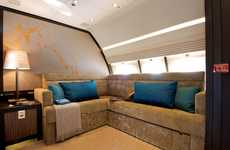 Sky-High Workspaces - Comlux Unveils the World's Largest Corporate Jet Cabin