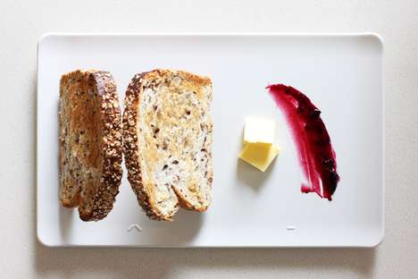 Slanted Toast Salvers