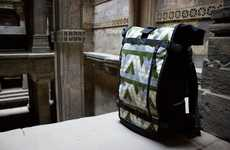 Culturally Relevant Luggage - Ethnotek Creates Bags Using Direct Fabric Trade