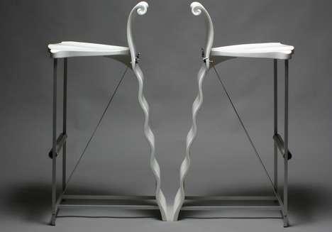 Rippling Ribbon Backrests