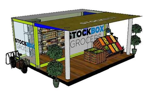Stockbox Grocers Create Petite City-Friendly Food Stores