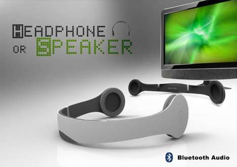Convertible Headphone Concepts