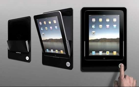 Wall-Mounted Tablet Docks
