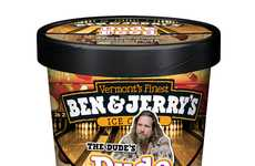 Slacker Dairy Desserts - The Big Lebowski Ice Cream is the Treat for those Living Life Easy