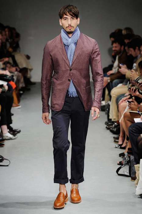 Dapper Color-Blocked Menswear